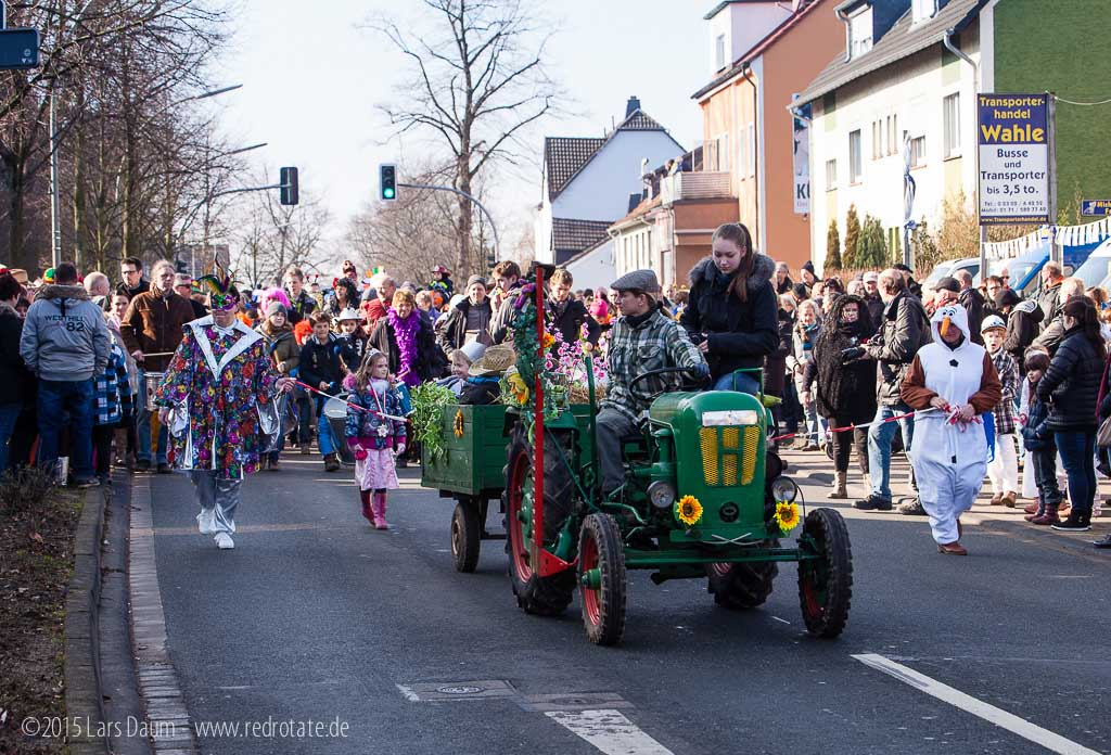 Einladung Karneval 2015