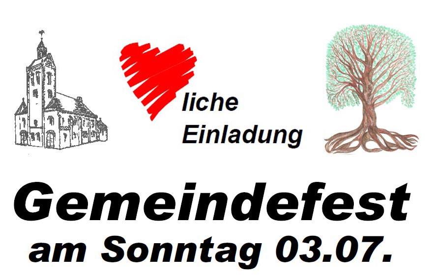 Gemeindefest 2016
