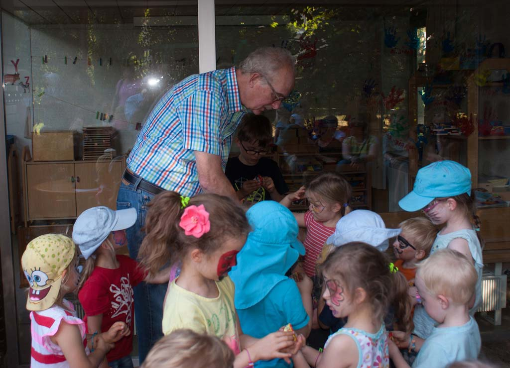 Kindergarten, Pfarrer Papies
