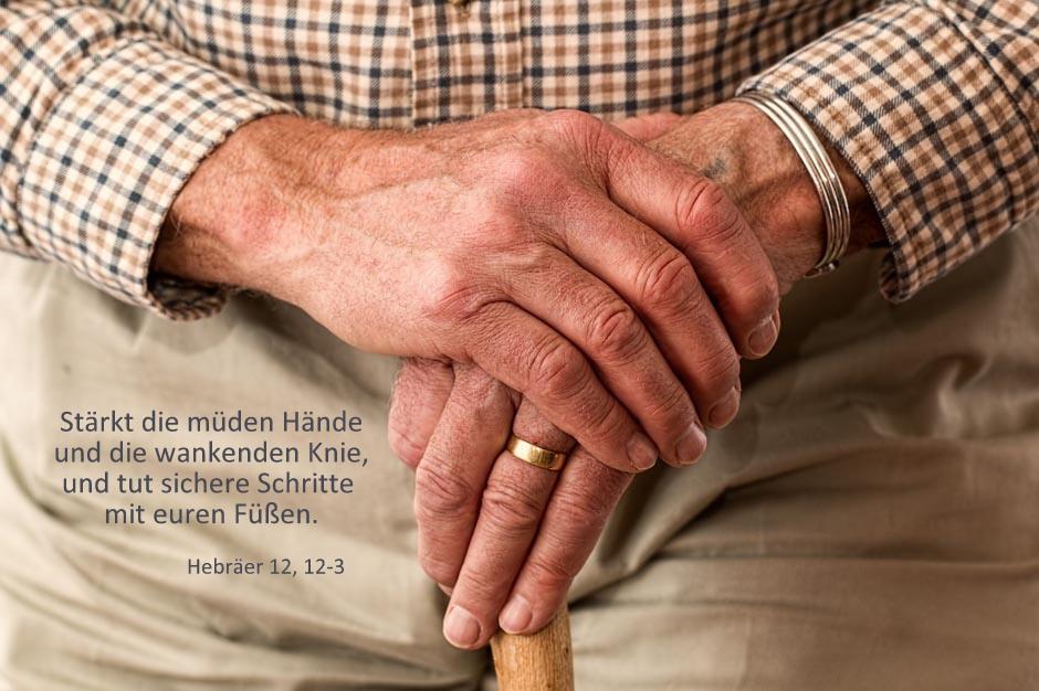 Hebräer 12, 12-13